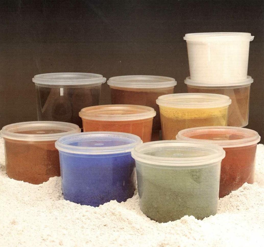 Pigmentos oxidos de hierro for Pigmento para cemento